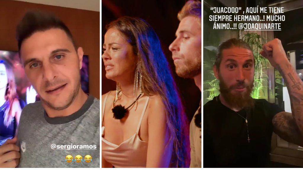 """Joaquín pide ayuda a Sergio Ramos para apoyar a Tom tras su hoguera con Melyssa: """"Se ha venido abajo y hay que apoyarlo"""""""