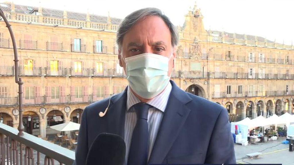 Las declaraciones de el alcalde de Salamanca tras anunciarse el confinamiento de la ciudad
