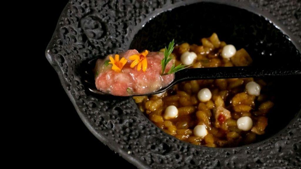 Uno de los platos de Susi