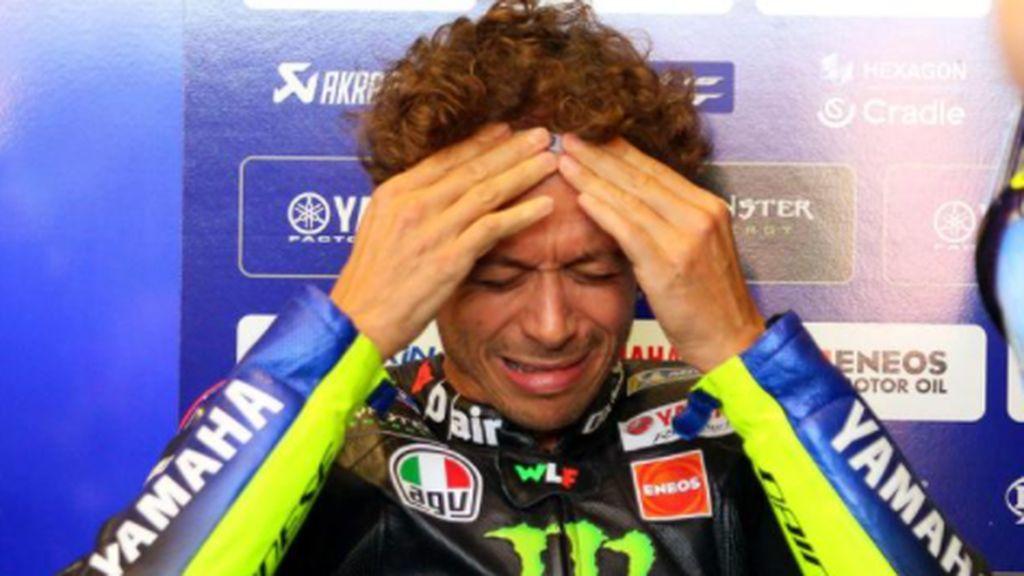 """Lambán, a Rossi, pique fuera del circuito: """"La COVID no es su principal problema de salud"""""""