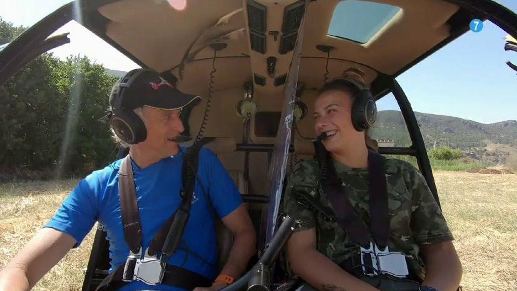 Jesús Calleja irá a La Alpujarra en el próximo programa de 'Volando voy', el jueves a las 22:45 h.