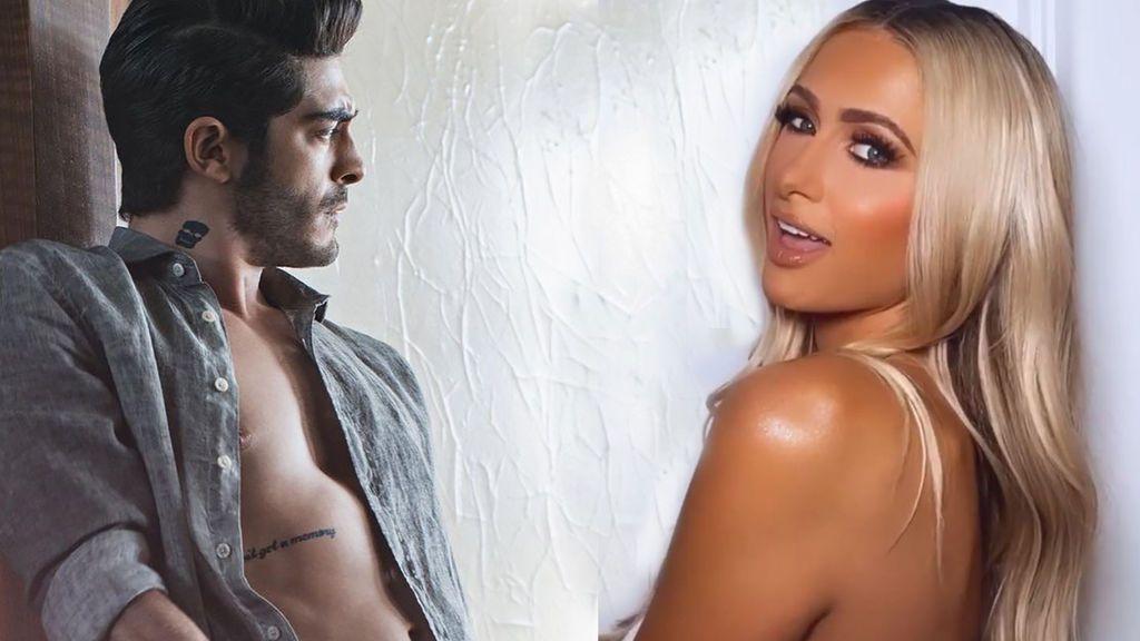 Burak Deniz y Paris Hilton