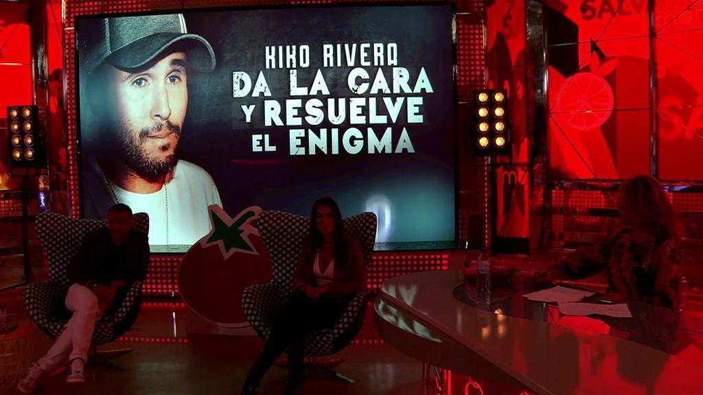 Kiko Rivera se sienta en el 'Deluxe'