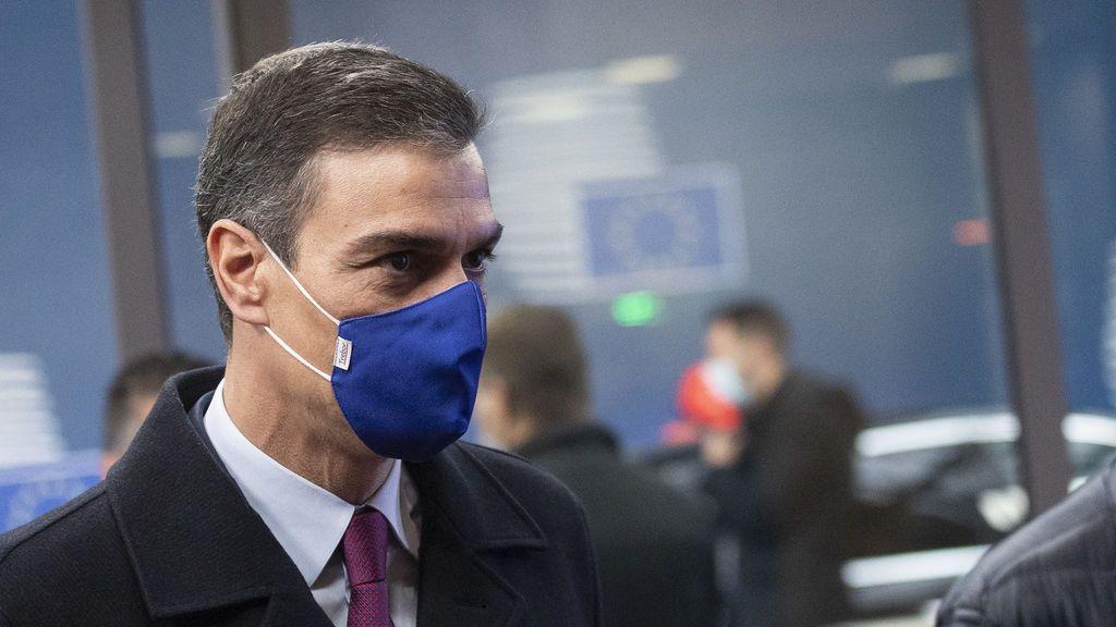 Pedro Sánchez, en Bruselas