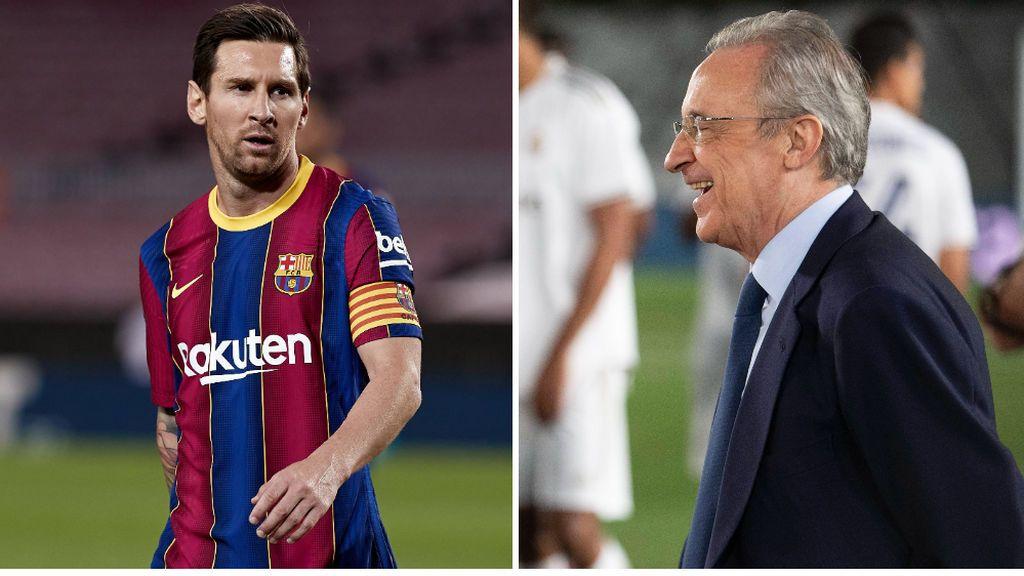 La atrevida respuesta de Messi a Florentino Pérez cuando intentó ficharlo para el Real Madrid en 2013