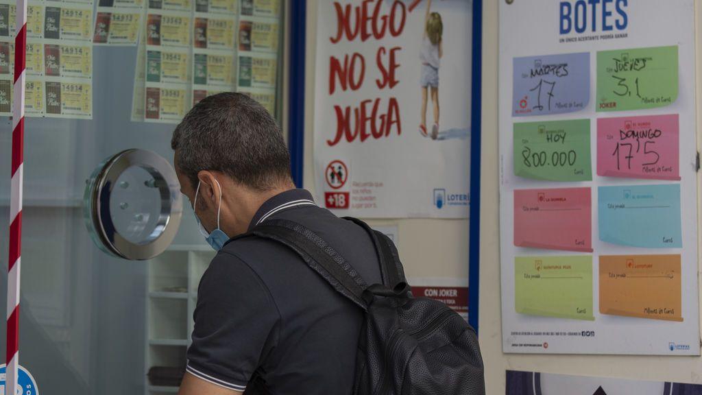 8,7 millones de euros para un único acertante de la Primitiva en San Fernando (Cádiz)