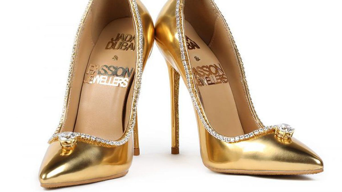 Oro y más de 200 diamantes: así son los zapatos más caros del mundo