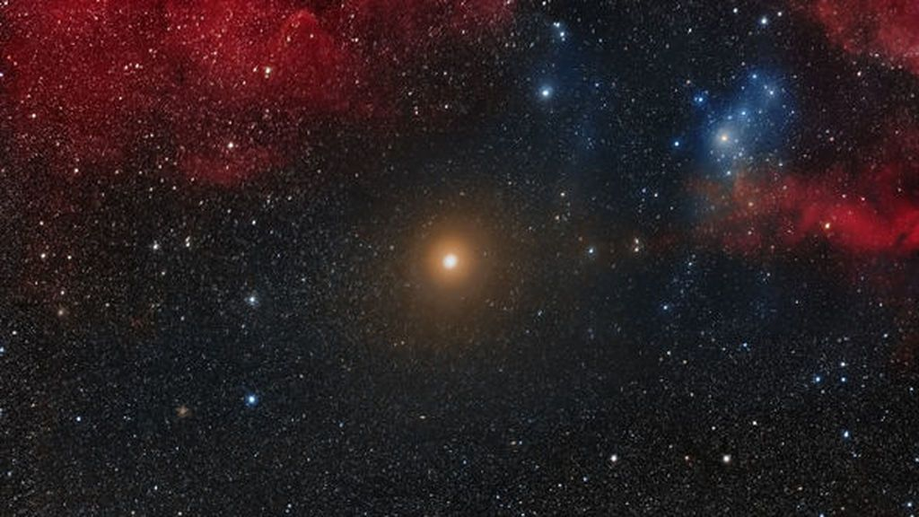 La estrella Betelgeuse no es tan grande como pensábamos... Y tampoco va a regalarnos ningún espectáculo