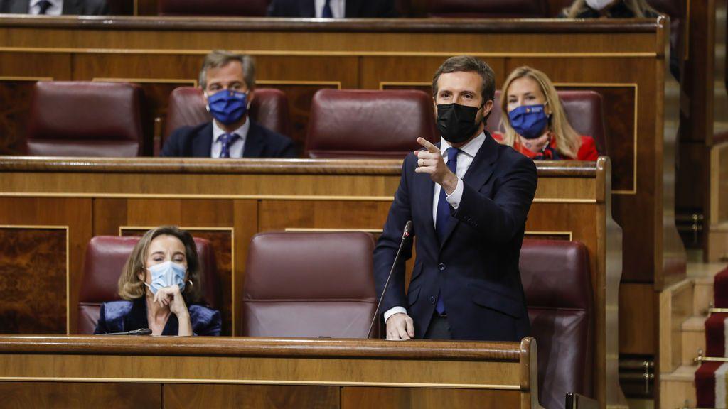 La derecha se moviliza contra la propuesta de PSOE y Podemos de cambiar el sistema de elección de magistrados