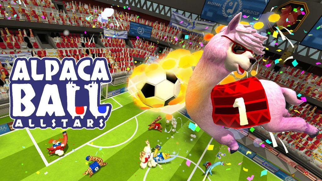 Alpaca Ball Allstars: ¡fútbol con alpacas!