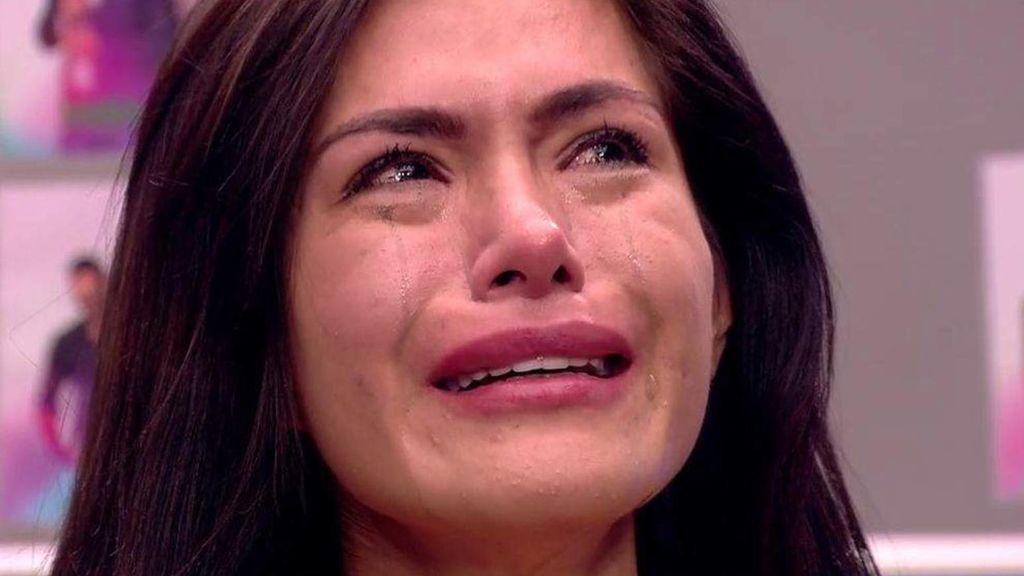 Miriam Saavedra, llorando en 'GH VIP'