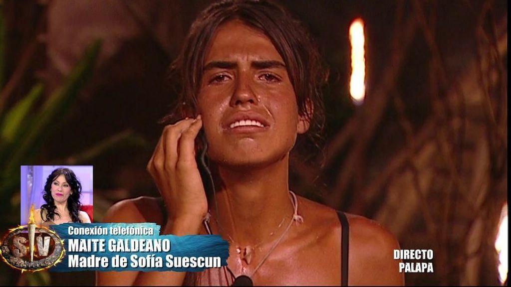 Sofía Suescun en 'Supervivientes'