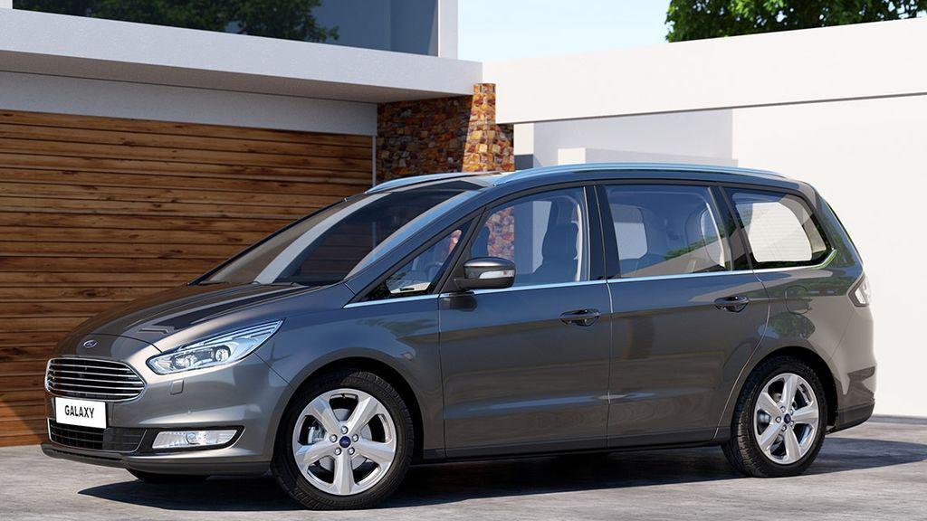 """Ford Galaxy, siete plazas y maletero """"Transformer"""" con rebaja de 13.327 €"""
