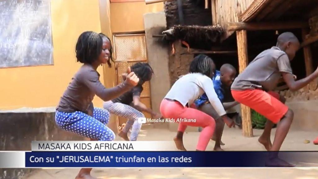 Masaka Kids Africana, los alumnos que triunfan en las redes con la coreografía del éxito 'Jerusalema'