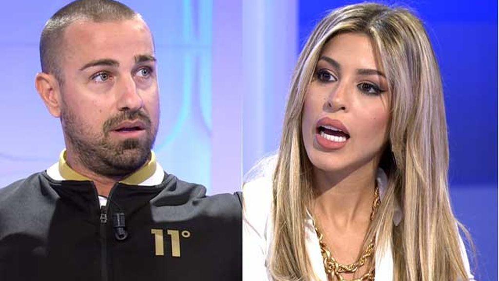 Rafa Mora y Oriana se enfrentan tras su ruptura con Iván