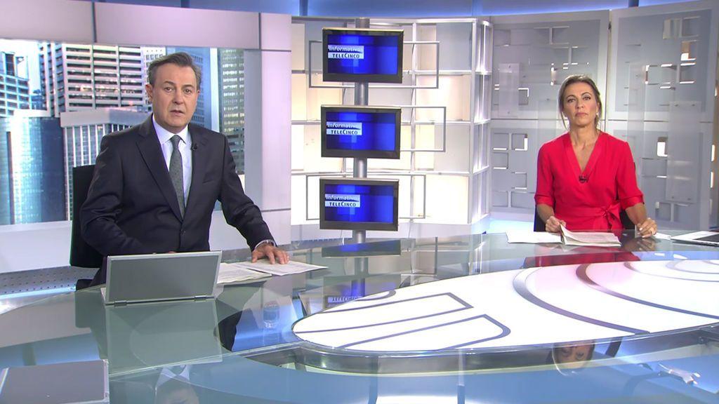 Con José Ribagorda y Ángeles Blanco Informativos Telecinco 2020 Mediodía 17/10/2020