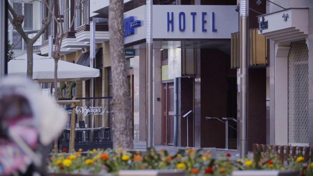 El crimen de la habitación 404 de un hotel en Logroño