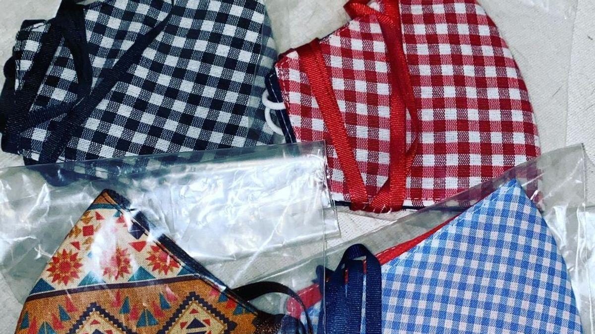 Mascarillas de tela, el salvavidas con el que resurgen las marcas de moda flamenca