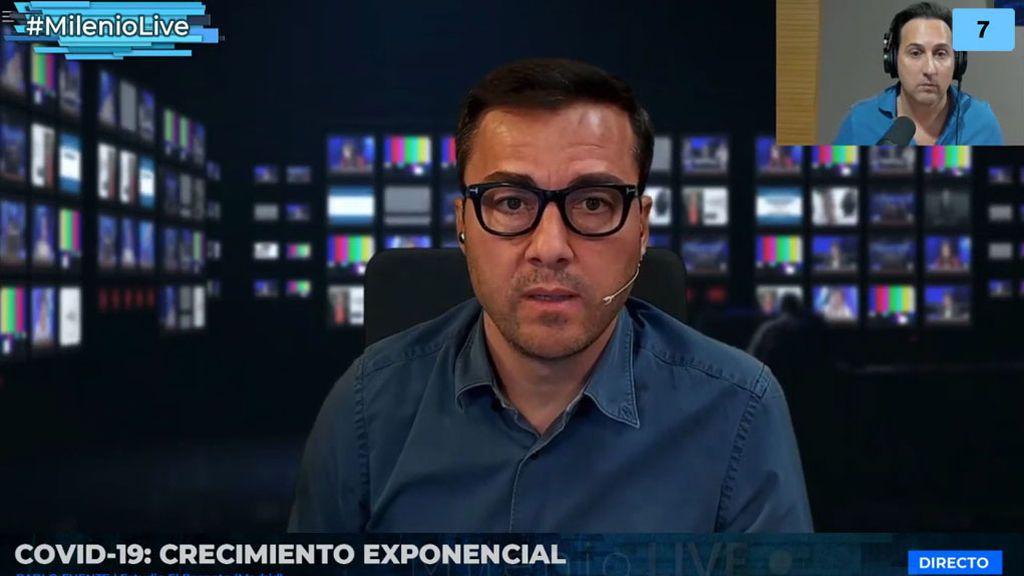 Pablo Fuente, más duro que nunca, destapa la situación en los colegios