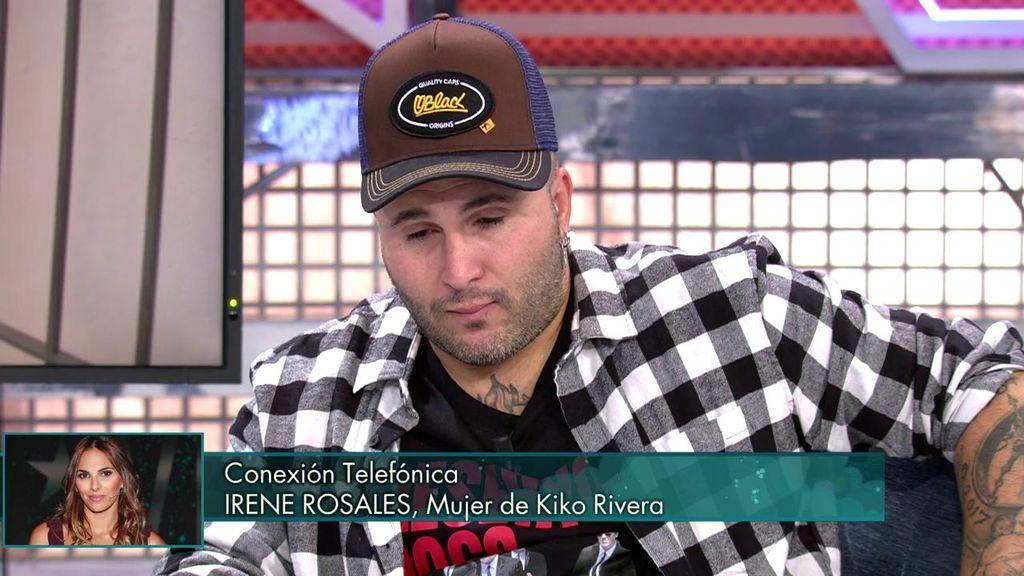 """Kiko Rivera habla con Irene Rosales tras admitir su deslealtad: """"Lucharemos juntos"""""""