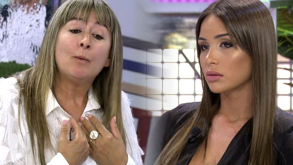 El cara a cara de la hermana de Sandra y la madre de Melyssa