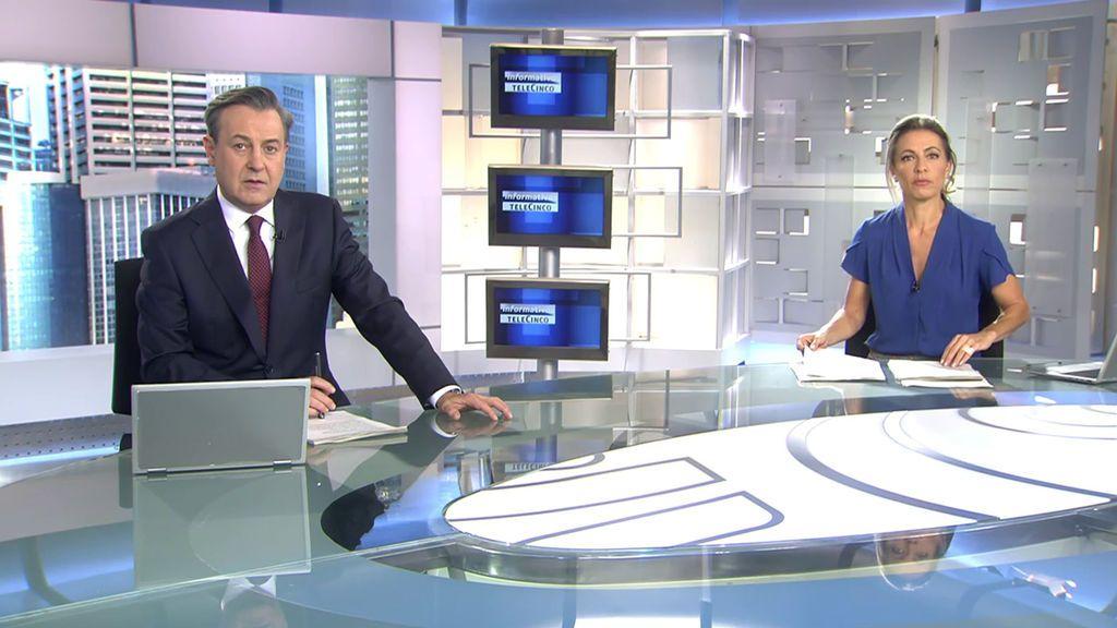 Con José Ribagorda y Ángeles Blanco Informativos Telecinco 2020 Mediodía 18/10/2020