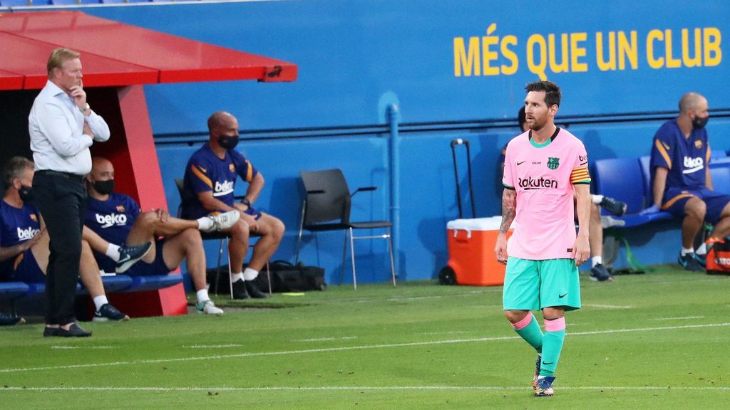 """El plan de Koeman cuando llegó al Barça para recuperar a Messi: """"Tenemos que asegurarnos que el entrenamiento sea divertido"""""""