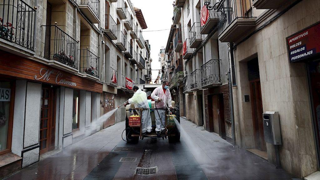 Descienden los contagios diarios en Navarra hasta los 411 nuevos positivos