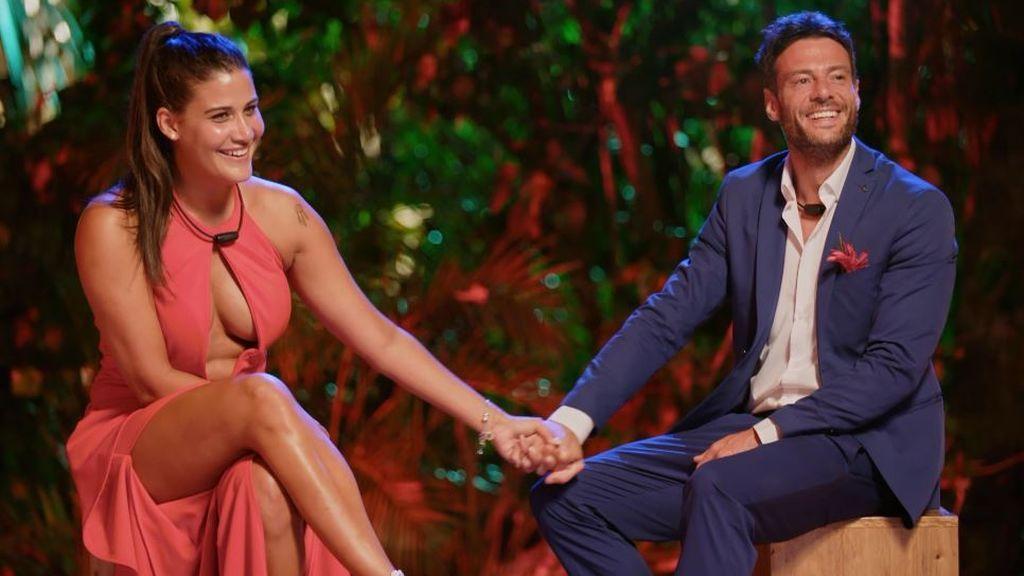 """Alessandro y Patricia se marchan juntos de 'La isla de las tentaciones 2' con una firme propuesta: """"Ya es hora"""""""