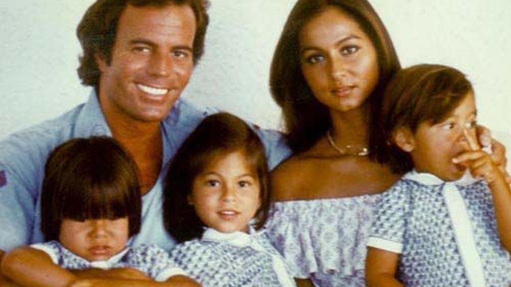 De su relación nacieron Chábeli, Julio José y Enrique.