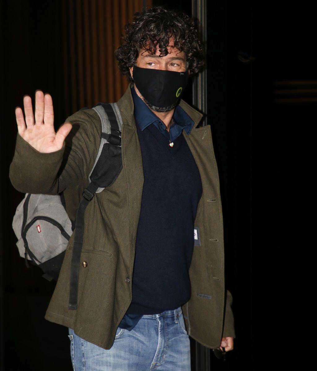 Nacho Palau, a su llegada a los juzgados
