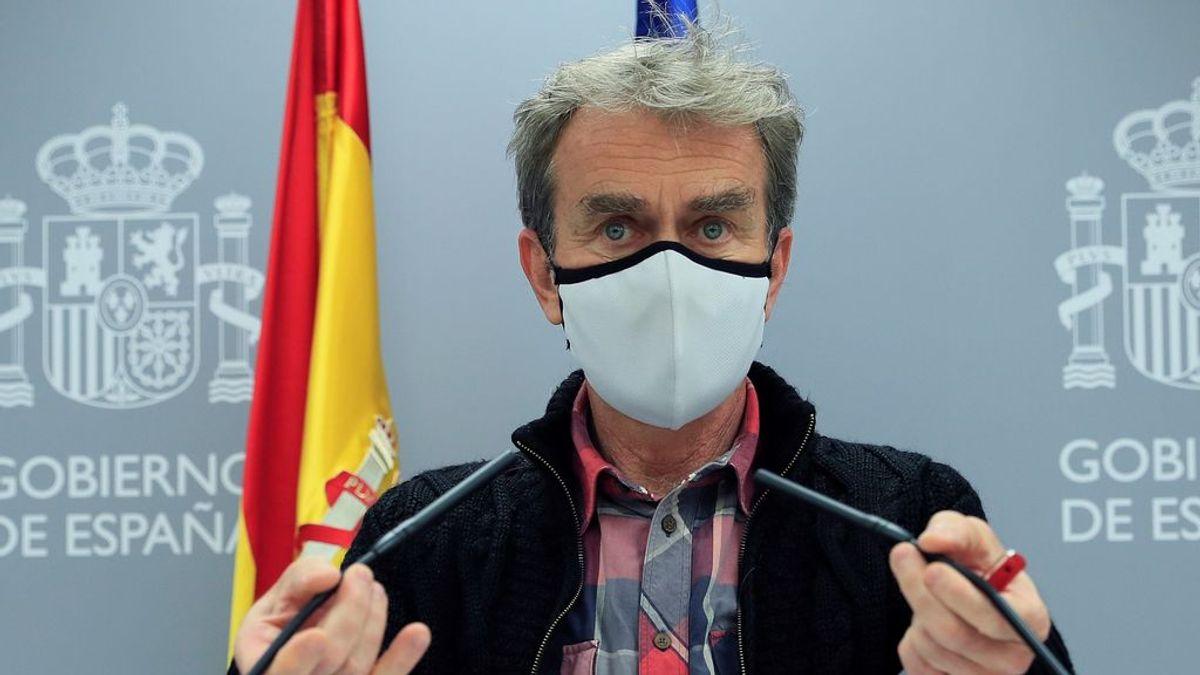 """Simón pasa de la estabilidad al miedo al """"ascenso"""", pero descarta más estado de alarma en Madrid"""