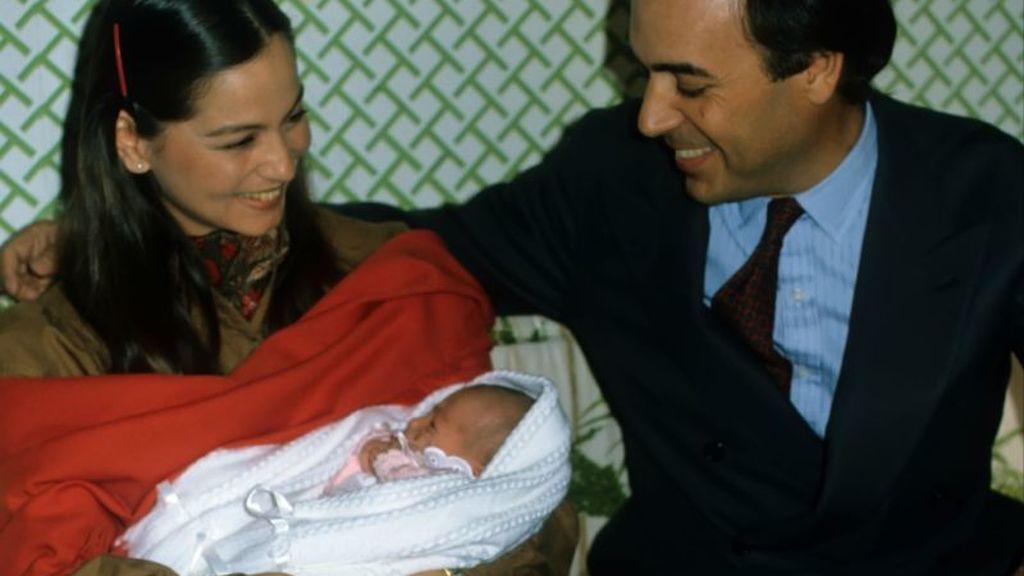 De su relación nació la pequeña Tamara.