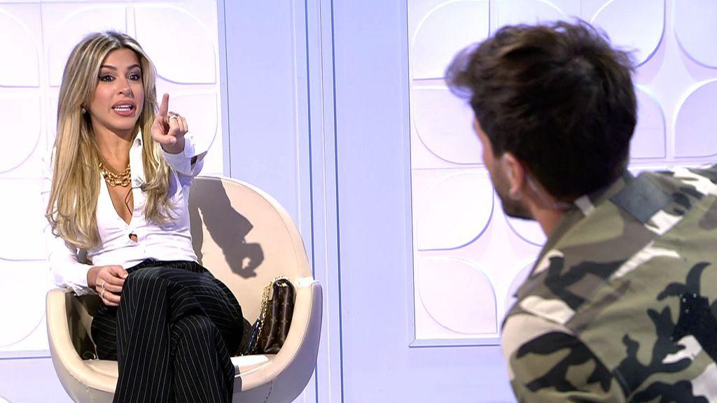 """Oriana explota contra Iván al borde de sufrir un ataque de ansiedad:  """"En tú puñetera vida vas a volver conmigo"""""""