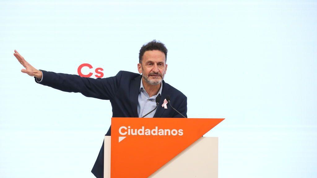 """Ciudadanos arremete contra la moción de Vox: """"Es inoportuna e irresponsable"""""""
