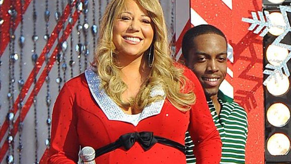 Mariah Carey fue madre de gemelos a sus 42 años.