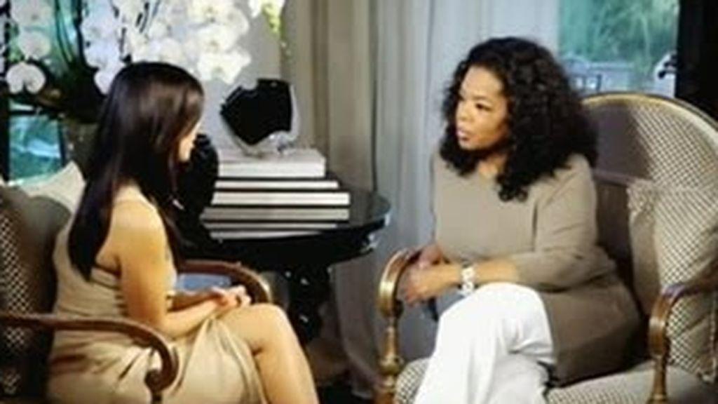Oprah Winfrey entrevistó a Kim tras su divorcio