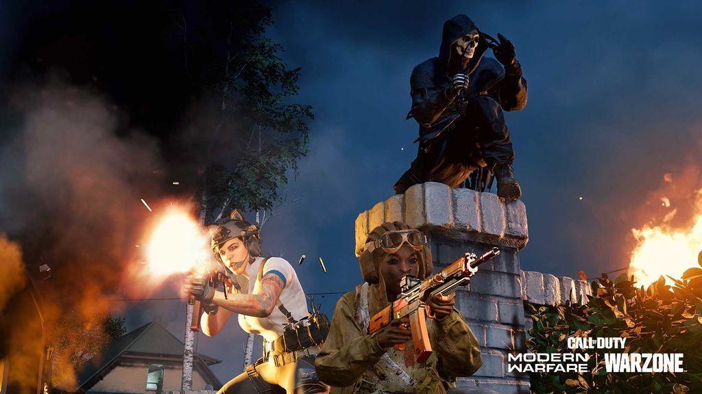 CoD: Modern Warfare y Warzone The Haunting of Verdansk y Zombie Royale