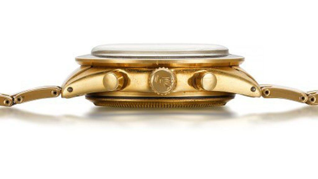 """El Rolex Daytona """"John Player Special"""", el reloj de oro que ha batido récords en su subasta"""