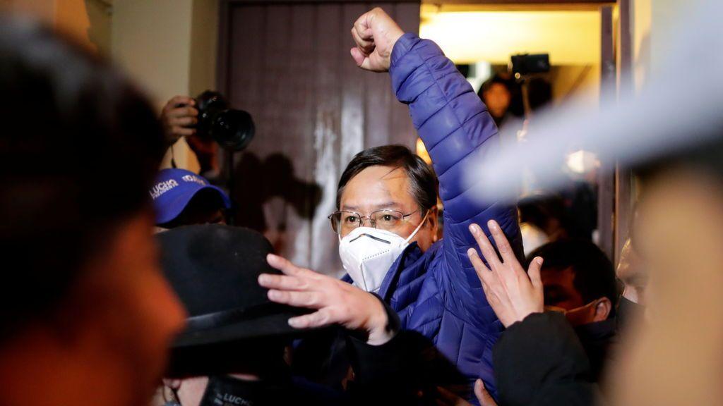 Bolivia: Arce roza el 47 por ciento de los votos con casi la mitad de las actas escrutadas