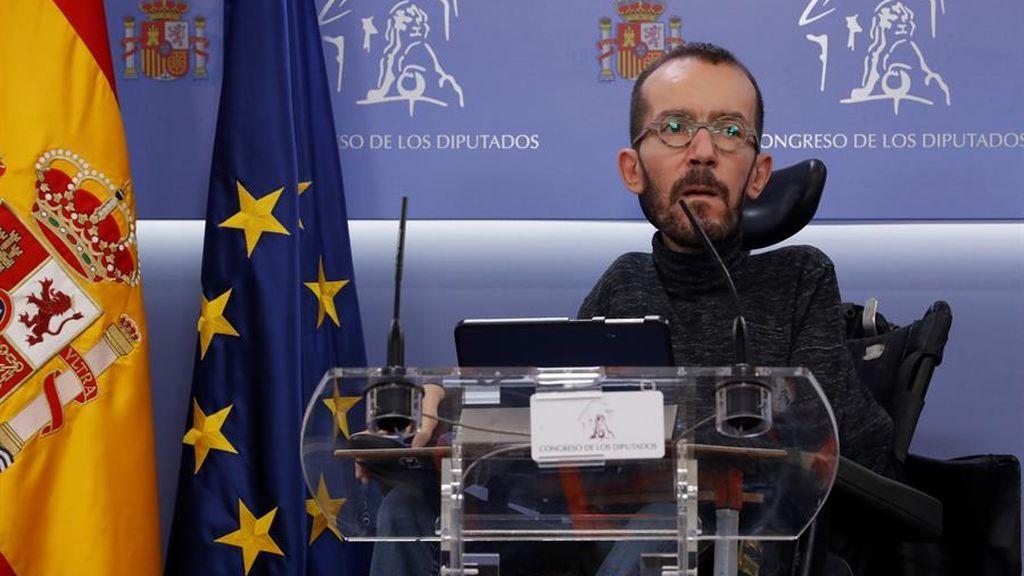 """Echenique retira su recurso ante el Supremo y deberá pagar la multa de 11.000 euros por pagar """"en negro"""" a su asistente"""