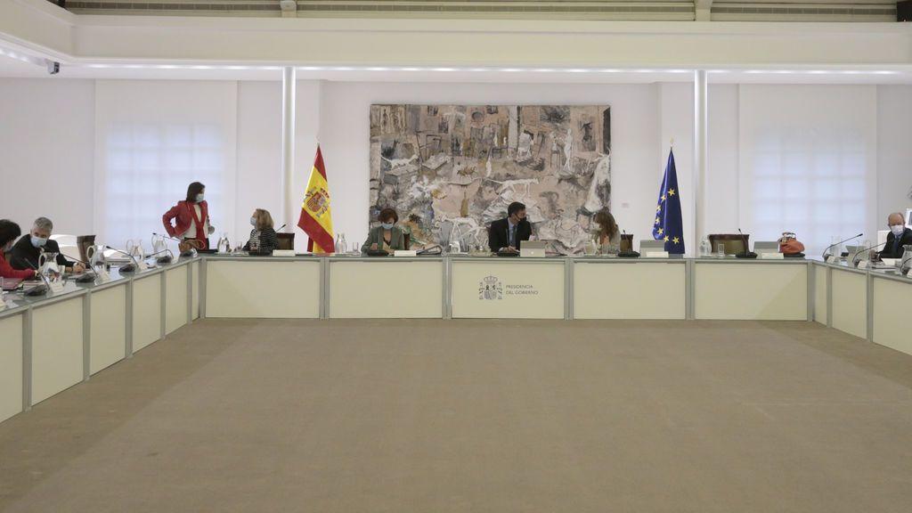 Consejo de Ministros del 20 de octubre