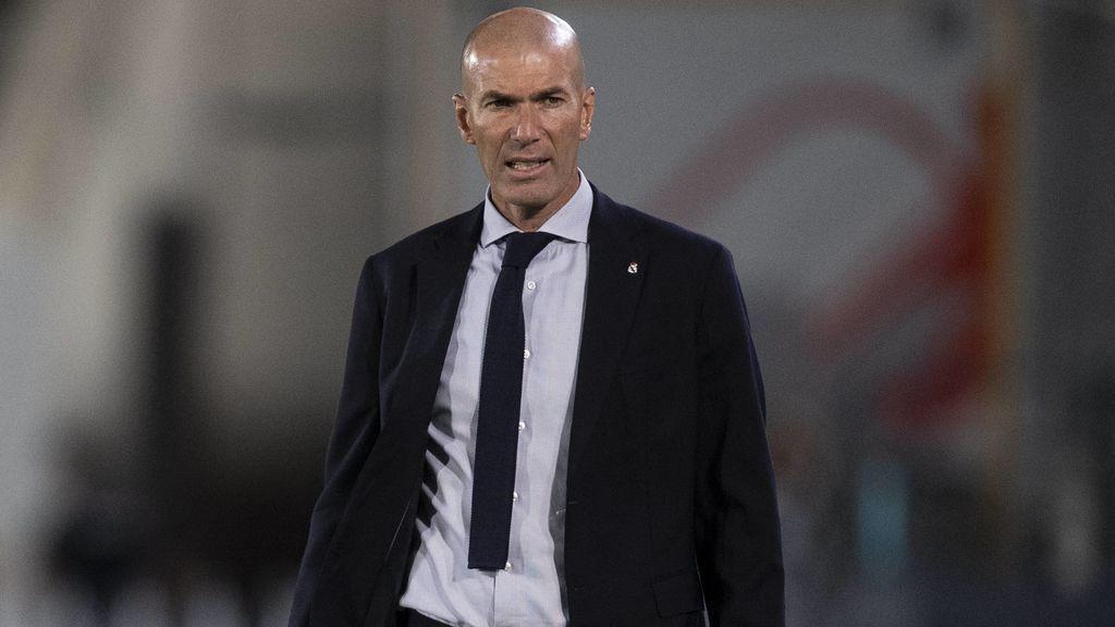 Zidane, preocupado con la falta de gol del Madrid.