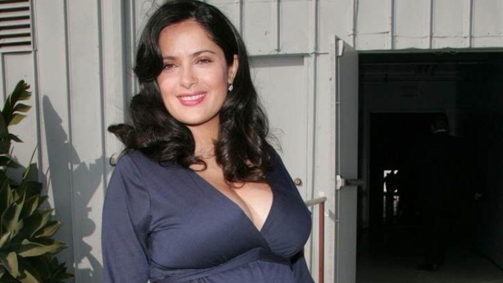 La actriz Salma Hayek tuvo a su primera hija, Valentina, cuando tenía 41 años.