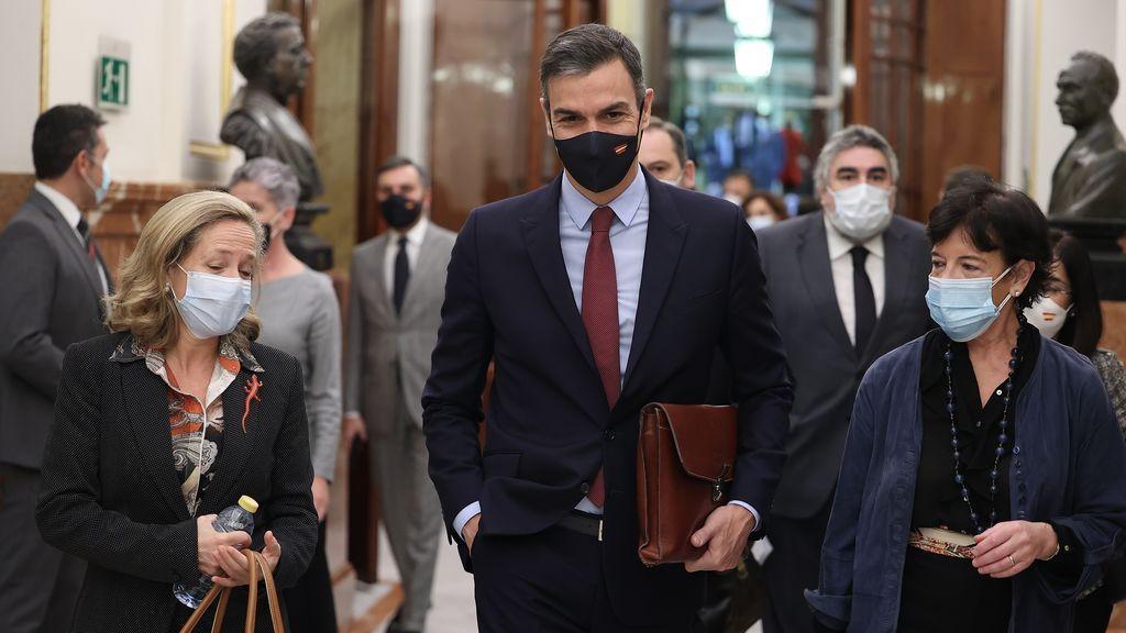 Sánchez, en la moción  de censura: del hartazgo a la resignación