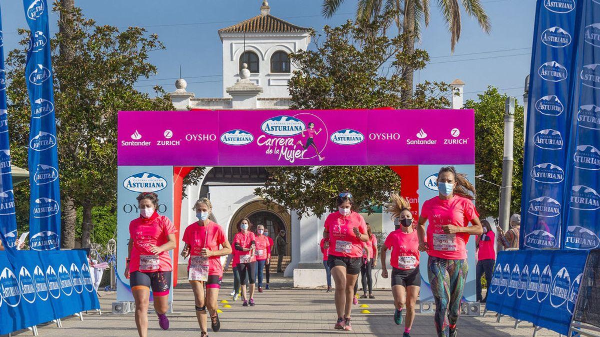 Tras un emotivo evento en Sevilla la Marea Rosa de la Carrera de la Mujer se traslada a medid