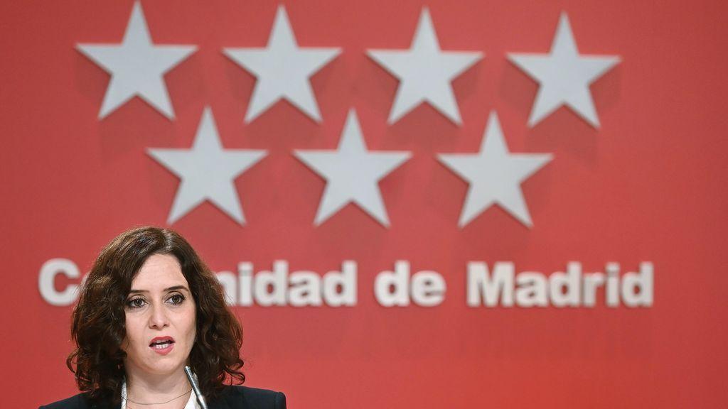 Ayuso avanza que el viernes aprobará nuevas restricciones para Madrid y pone el foco en las fiestas nocturnas