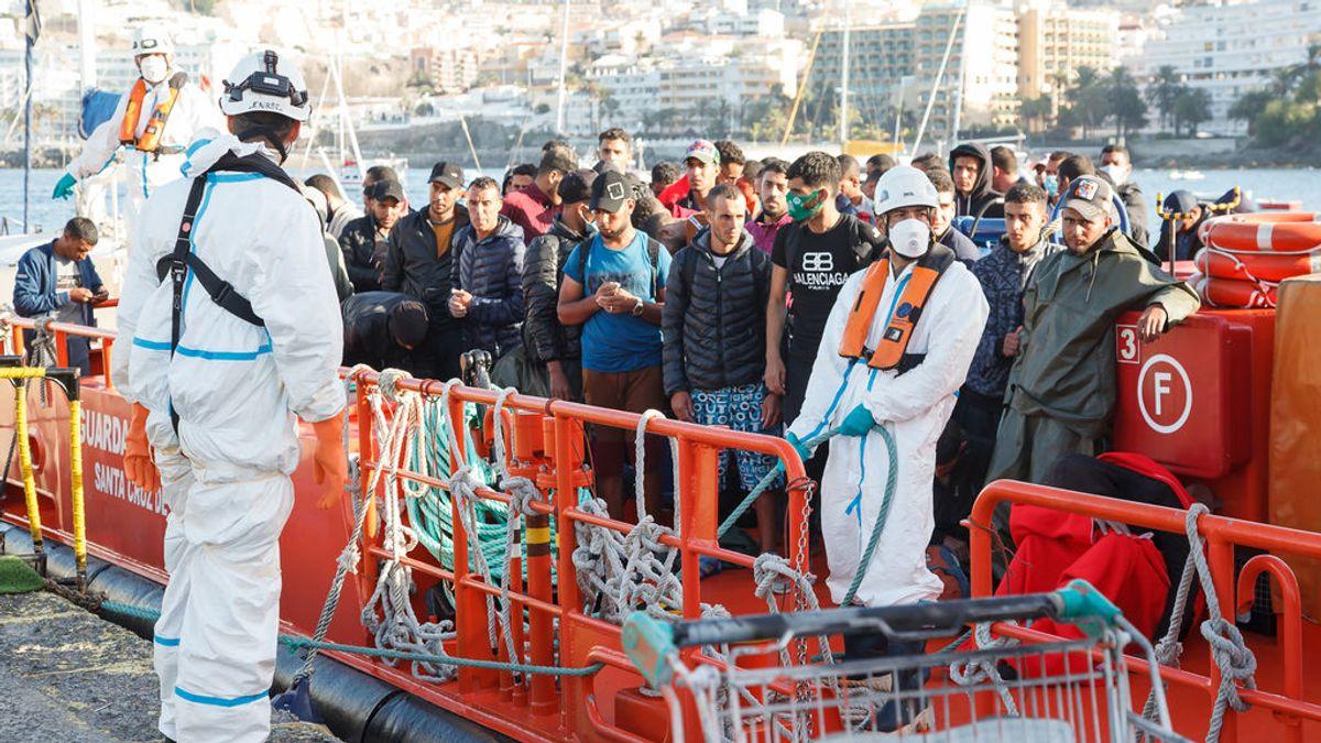 Canarias recibe en 7 días los mismos migrantes que en 2019