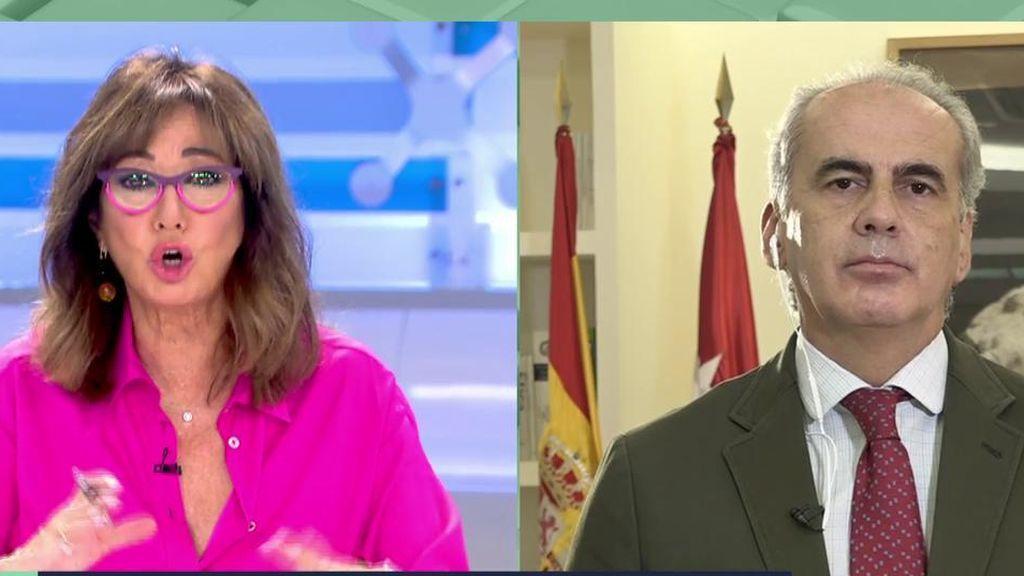 El consejero de Sanidad de Madrid se pronuncia sobre el toque de queda y las medidas de la comunidad de Madrid