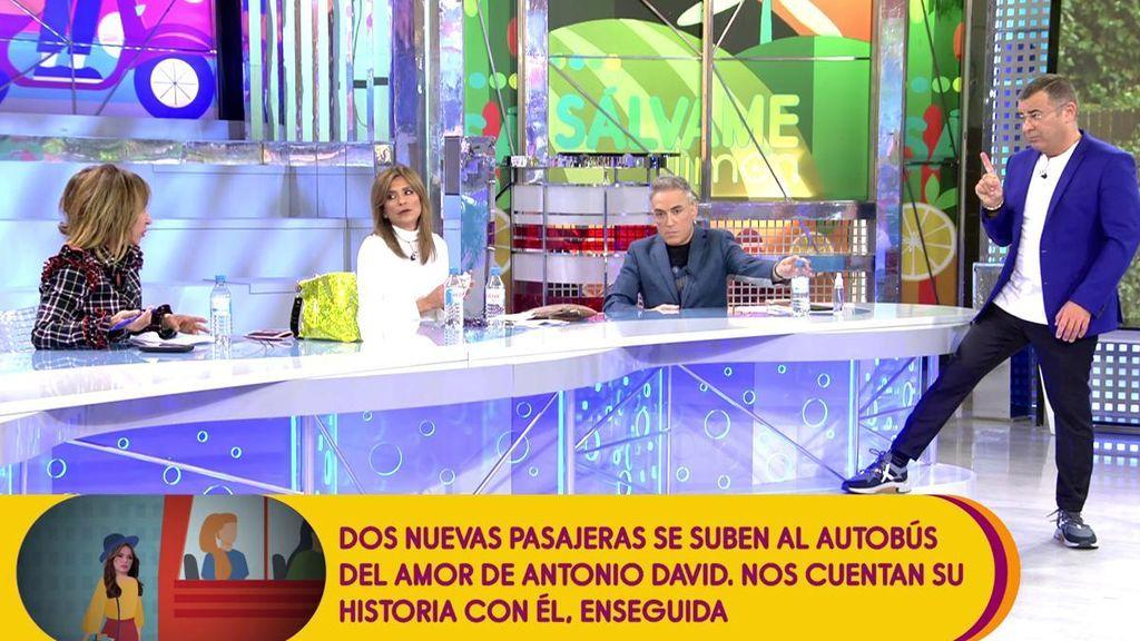 """Jorge Javier Vázquez se mete con los retoques de María Patiño y ella le devuelve el zasca: """"¡Lo tuyo es agua y jabón!"""""""